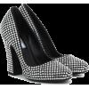 PRADA Crystal-embellished pumps - Klasični čevlji -