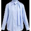PRADA  Cut-out cotton-poplin shirt - Košulje - duge -