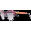 PRADA EYEWEAR round frame sunglasses - Sunglasses -