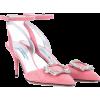PRADA Embellished suede pumps - Klasične cipele - 635.00€