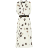 PRADA Floral sablé midi dress - Dresses -