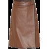 PRADA Leather skirt - Spudnice -