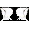 PRADA Metal square glasses  - 度付きメガネ - 235.00€  ~ ¥30,794