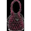 PRADA Netted printed bucket bag £716 - Torbe s kopčom -