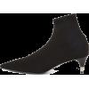 PRADA Pointy Toe Sock Bootie - Botas -