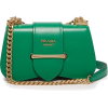 PRADA  Sidonie leather cross-body bag - Сумочки -