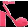 PRADA Suede platform sandals - Sandals -