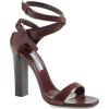 PRADA ankle strappy high sandal - Sandals -