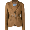 PRADA belted blazer - Abiti -