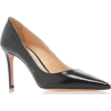 PRADA black leather pump - Klasyczne buty -