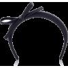 PRADA bow headband - 有边帽 -