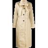 PRADA bow trenchcoat - アウター -