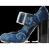 PRADA brocade shoe - Klasyczne buty -