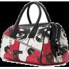 PRADA comic print tote bag - Clutch bags -