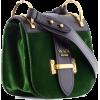 PRADA green velvet bag - Hand bag -