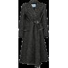 PRADA herringbone weave belted coat - Jacket - coats -