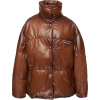 PRADA leather puffer coat - Jacket - coats -