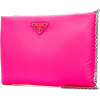 PRADA logo clutch bag - Borse con fibbia -