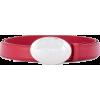 PRADA oval engraved buckle belt - Paski - $501.00  ~ 430.30€