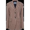 PRADA plaid wool blazer - Jaquetas e casacos -