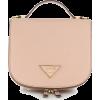 PRADA small logo plaque backpack - Hand bag -