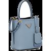 PRADA small panier tote bag - Messaggero borse - $1,990.00  ~ 1,709.18€