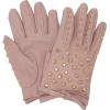 PRADA studded leather gloves - Rukavice -