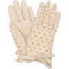 PRADA studded leather gloves - Handschuhe -