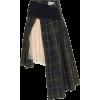 PREEN plaid skirt - Saias -