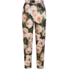 PRINTED BROCADE PANTS D&G - Capri & Cropped -