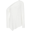 PROENZA SCHOULER Crêpe one-shoulder top - Camisas manga larga -