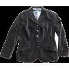 PURIFICACION GARCIA velvet jacket - Jacket - coats -