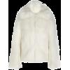Paco Rabanne Collared Faux Fur Coat - Jacket - coats -