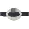 Paco Rabanne Eight XL Leather Belt - Pasovi -