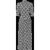 Paco Rabanne Geo Printed High Neck Dress - Dresses -