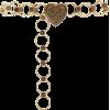 Paco Rabanne Silver-Tone Heart Link Belt - Gürtel -