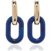 Paco Rabanne XL Link Double Earrings - Aretes -