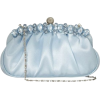 Pale Blue Evening Bag - Illustrations -