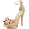 Pale Pink Bow Heel - Classic shoes & Pumps -