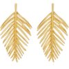 Palm Leaf Earring by Oscar de la Renta - 耳环 - $999.00  ~ ¥6,693.63