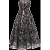 Pamella Roland Metallic Sequin Embroider - Obleke -