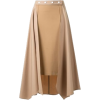 Panelled Midi Skirt - Skirts -
