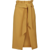 Paperbag Midi Skirt Topshop - Skirts -