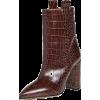 Paris Texas Moc Croco Ankle Boots 100mm - Čizme - $585.00  ~ 502.45€