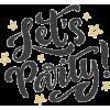Party - Uncategorized -
