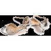 Paso de Fuego - Plata Manchada Butterfly - Sandals -