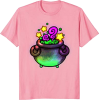 Pastel Witch Cauldron Tee - T-shirts -