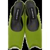 Paula Canovas Del Vas Green Diablo Mule - Classic shoes & Pumps -
