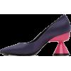Paula Canovas Del Vas Purple Diablo Heel - Klasični čevlji -