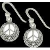 Peace Earrings - Earrings -